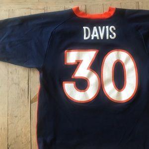 Vintage Denver Broncos Terrell Davis Jersey